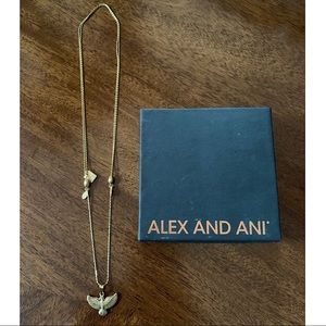 Alex and Ani Spirit of the Eagle Necklace